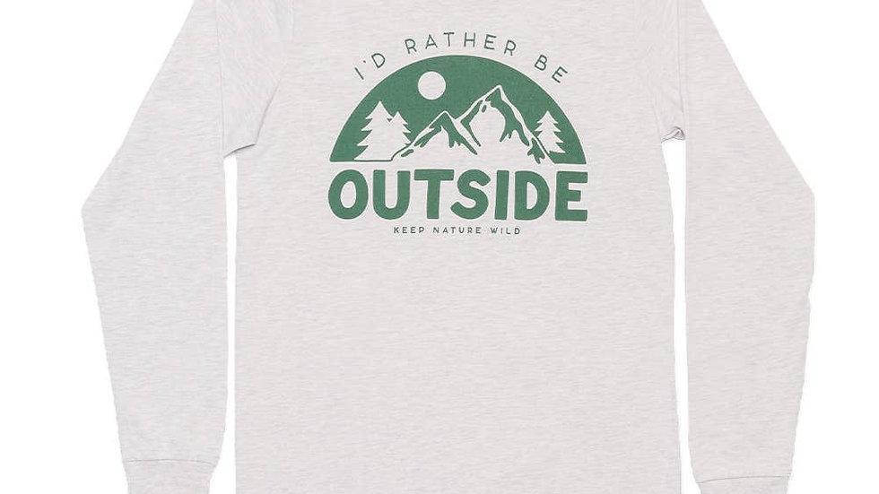 Be Outside Unisex Long Sleeve