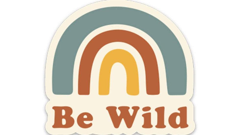 Be Wild Sticker // Keep Nature Wild