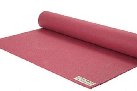 "Jade Harmony Yoga Mat in Raspberry 68"""