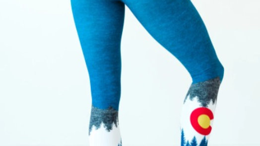 Heather Native Yoga Pants // Colorado Threads