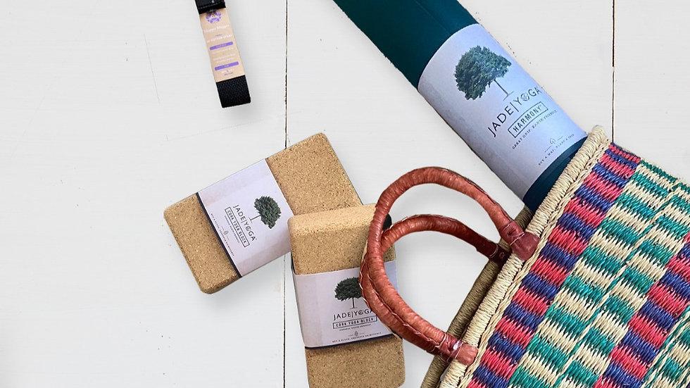 Mothers Day YOGA PROP Basket Gift set
