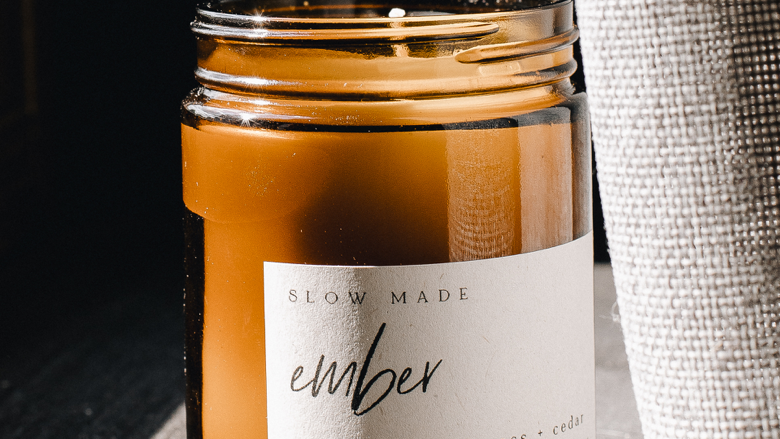 Ember Candle - Bergamont, Oakmoss + Cedar