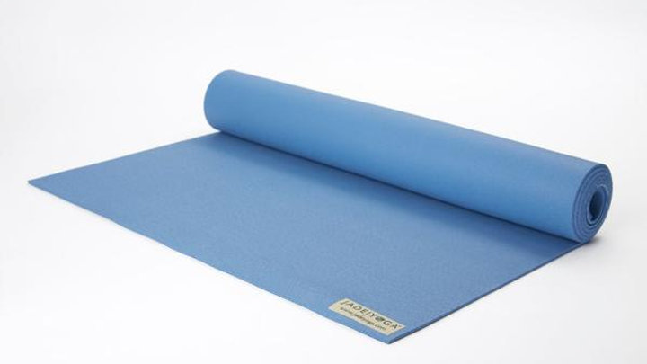 Jade Harmony Yoga Mat in Slate Blue 68""