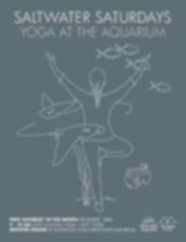 2018-19 Yoga at the Aquarium Flyer (8.5x
