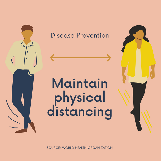 Runa Social Distance Disease Prevention