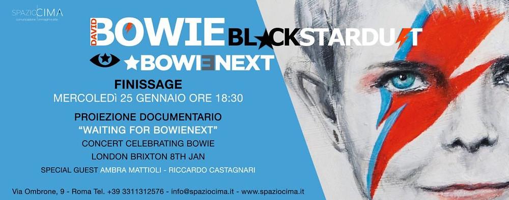 Ambra Mattioli David Bowie Tribute, Ambra Mattioli Tributo a David Bowie, Ambra Mattioli Aladdin Insane