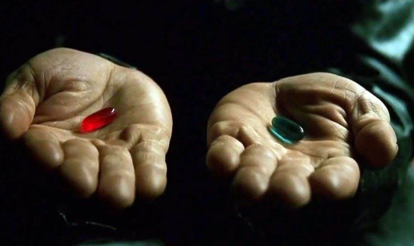 Matrix - pillola rossa pillola blu, Ambra Mattioli Blog News