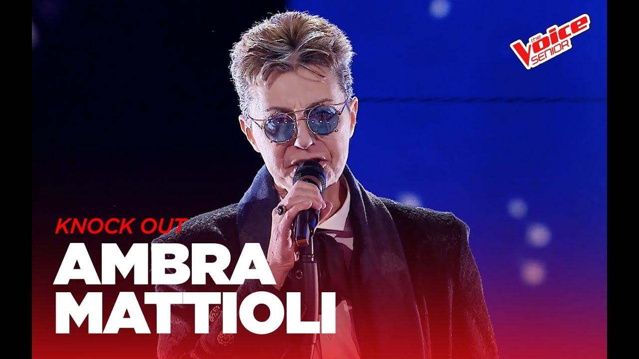 Ambra Mattioli The Voice Senior