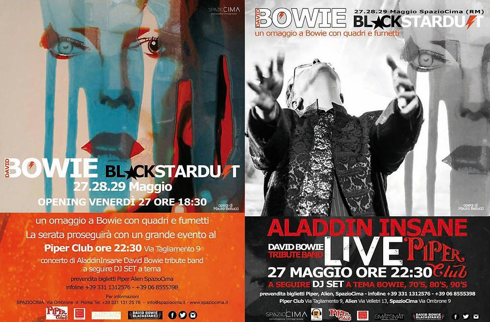 Ambra Mattioli, Aladdin Insane David Bowie Tribute, Aladdin Insane Tributo a David Bowie