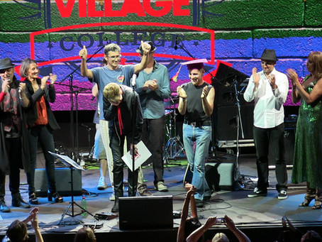Roman Summer at Gay Village. Ambra Mattioli and Aladdin Insane David Bowie Tribute in Concert.
