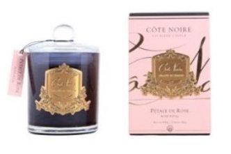 Côte Noire | 450g Gold Candle | Rose Petal