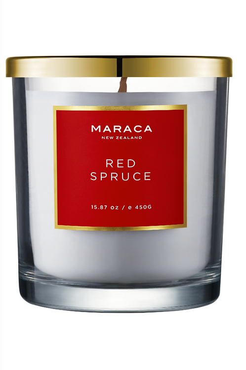 RED SPRUCE | LIMITED EDITION LUXURY CANDLE | 450G