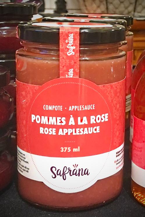 Compote de pommes à la rose (375 ml)