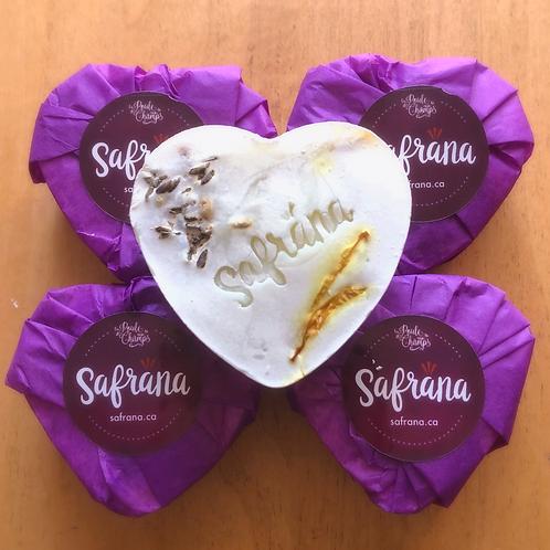 Savon Pétales de safran & Sapin baumier