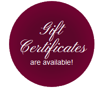 Professional Massage Therapy Gift Cert