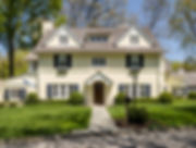 Architectural Photograph of Yellow House