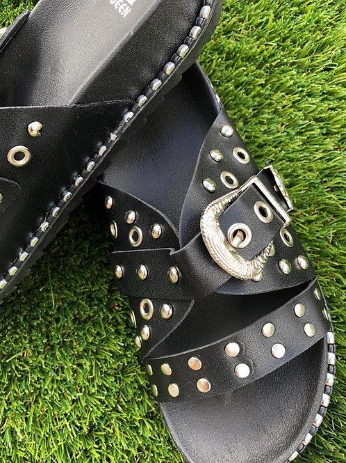 Roxy Stud Sandals