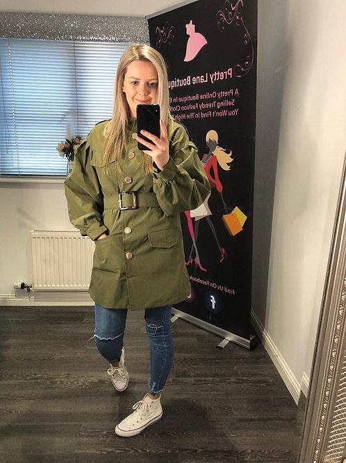 Frankie Khaki Jacket