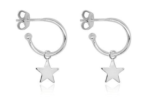 Dushku Star Charm Earrings