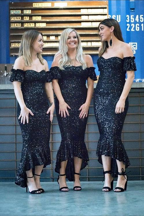 Black Fish Tail Dress