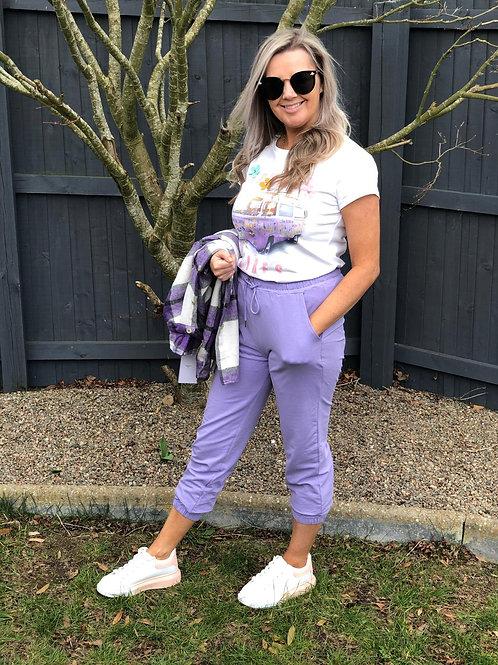 Lilac Joggers