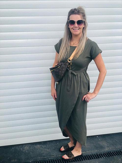 Khaki Travel Dress