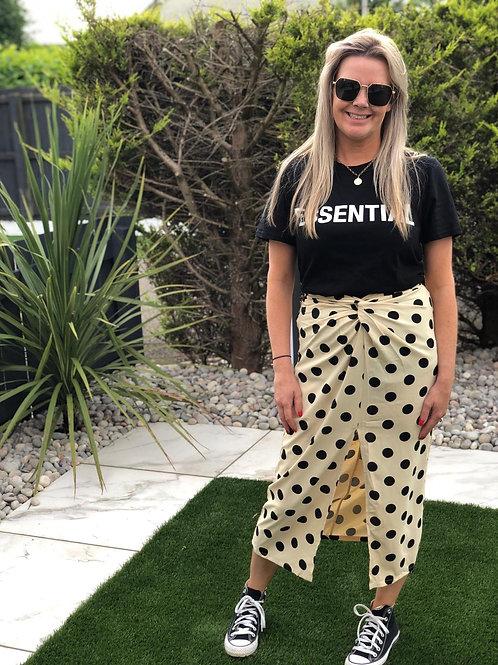 Dotty Midi Skirt