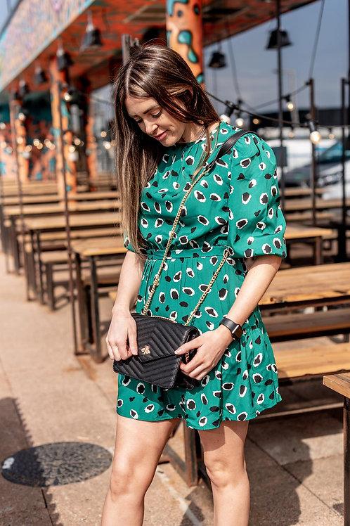 Petra Animal Print Dress