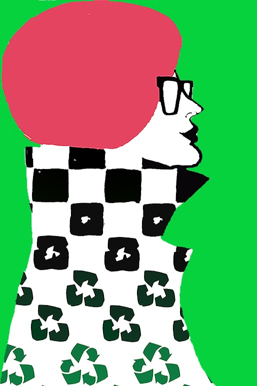 slow fashion icon design