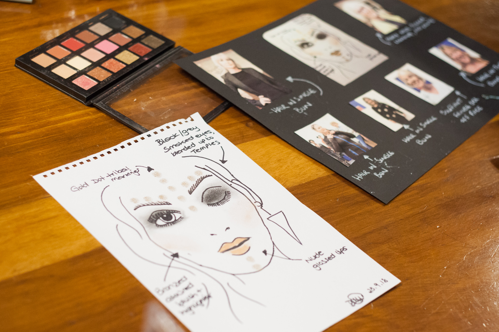 Slow Fashion Catwalk - make up