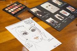 Slow Fashion Catwalk - make up