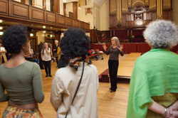 cat walk rehearsal ashton hall