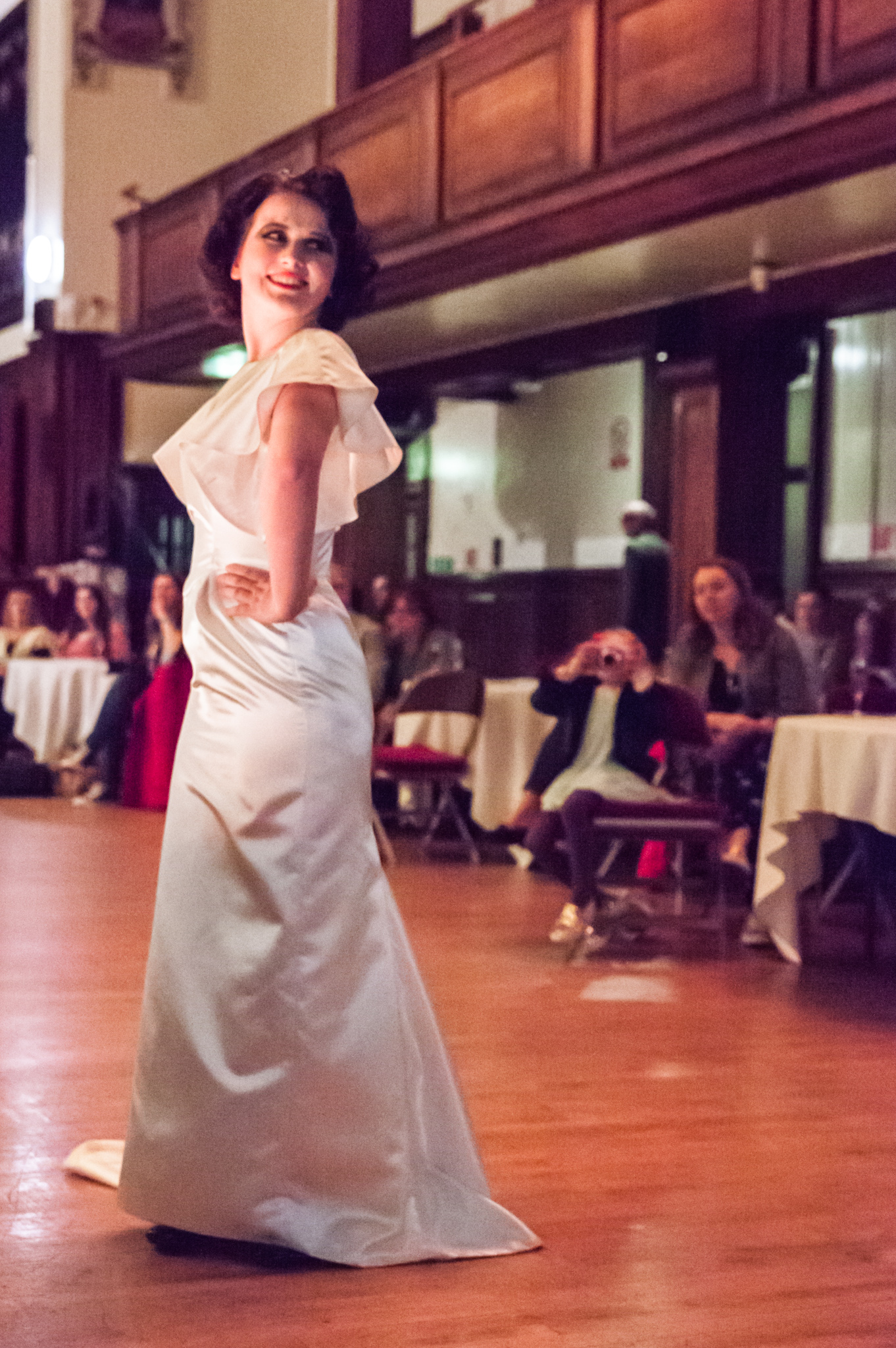 Slow Fashion Catwalk vintage bridal