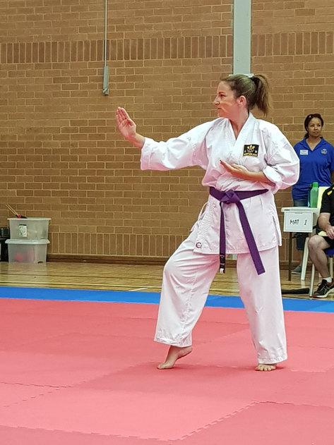 Competing @ the Kofukan Tournament