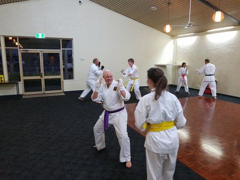 Senior Students - Kumite