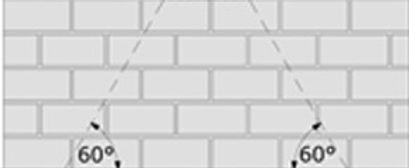 Lastverteilungswinkel beim Mauersägeverfahren