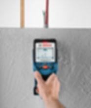 Wand-Scanner für Leitungen und Elektrokabeln