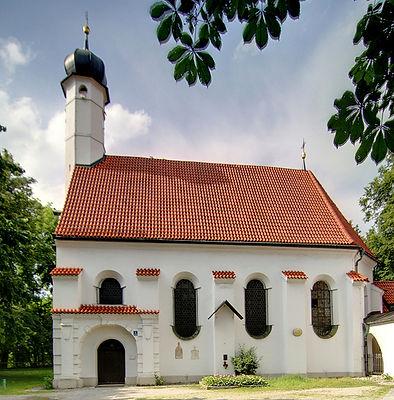 La iglesia Gasteigkirche enMunich