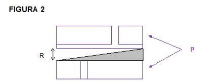 Montage des unteren Isolierkeil im Mauerwerk
