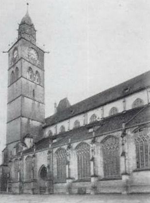 Münster St. Nikolaus año 1910