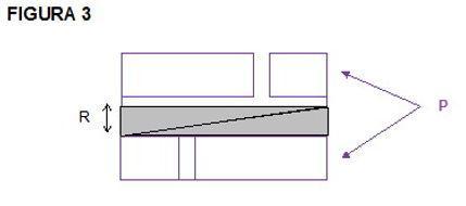 Montage des oberen Isolierkeil auf den unteren im Mauerwerk