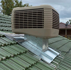 Full Ducted Evaporative System Installation