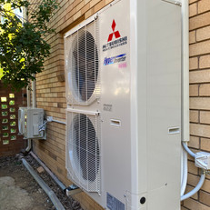 Mitsubishi Heavy Industries Full Ducted Air Conditioning System Installation