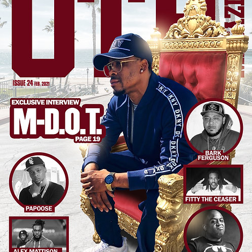 OTH Magazine Issue 24 (February 2021)M-D.O.T. (King Of Oceanside) Limited Cover
