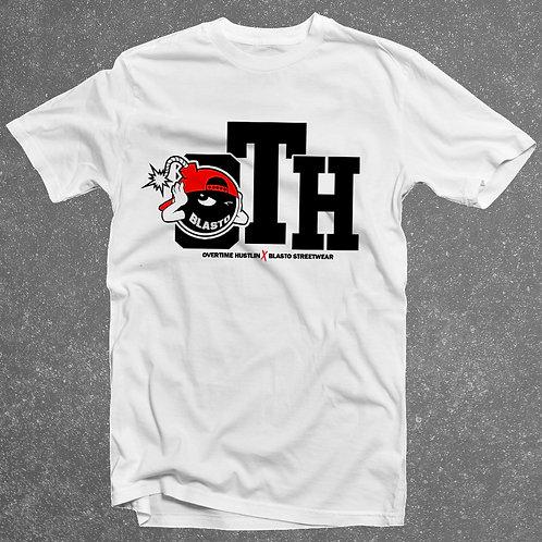 Overtime Hustlin x Blasto StreetWear Collaboration T-Shirt