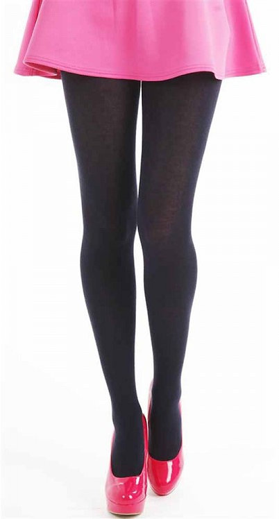 Navy supersoft acrylic wool tights, winter, cold weather, navy black, thick, soft, woolen, woolly, cotton, thermal