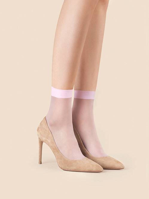 pink pastel ankle socks, so sweet, fiore, tights, hosiery, sheer, pop socks, feminine, delicate, cute, soft
