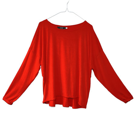 PLAIN oversized slouchy drapey top, draped slouch loose fitting loosely fit, yoga, exercise, sport, viscose, bamboo