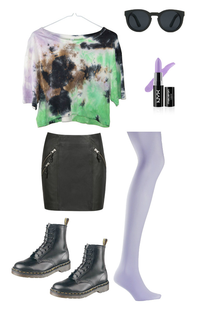 Top - Loulabelle Couture   Lipstick - NYX Shoes- Dr Martens