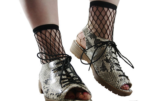 Fishnet ankle socks, tights, hosiery, Instagram socks, festival clothing, accessories, coachella, burning man, glastonbury